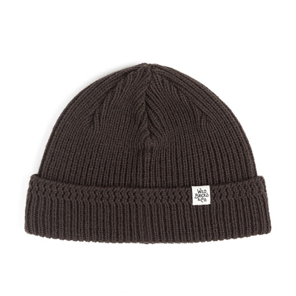 MILITARY KNIT WATCH CAP (brown)