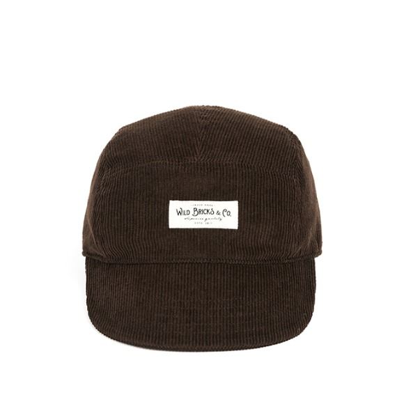 PL CORDUROY CAMP CAP (brown)