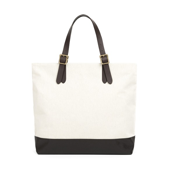 CONVERTIBLE TOTE BAG (ivory)