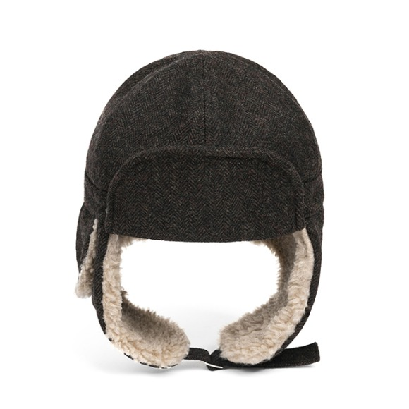 HBT WOOL TRAPPER HAT (brown)