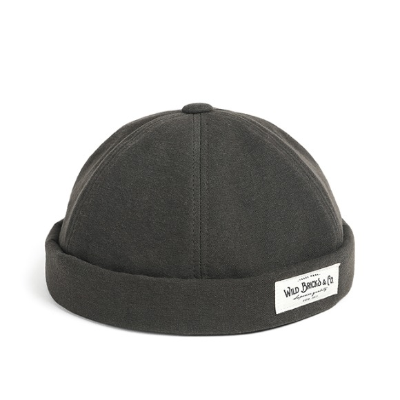 BI OXFORD BRIMLESS CAP (grey)