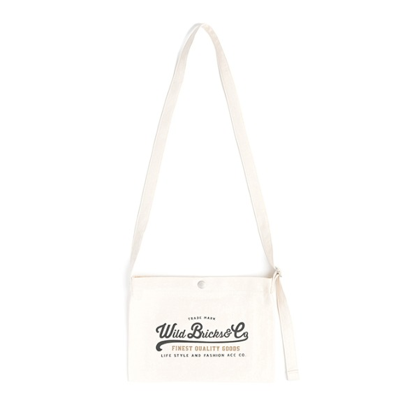 COTTON MINI CROSS BAG (ivory)