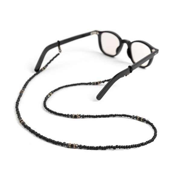 BS WOOD GLASSES STRAP (black)
