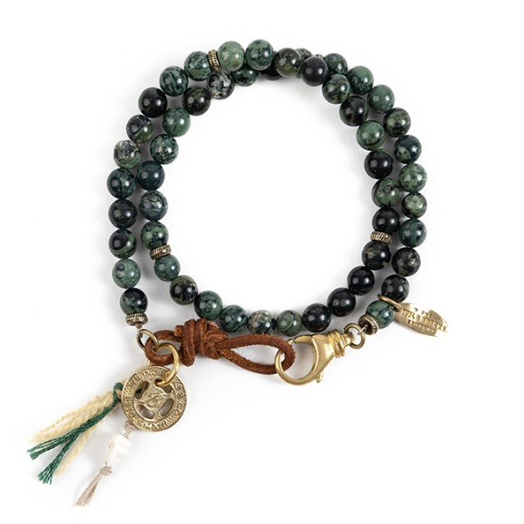 EN GEMSTONE BRACELET (green)