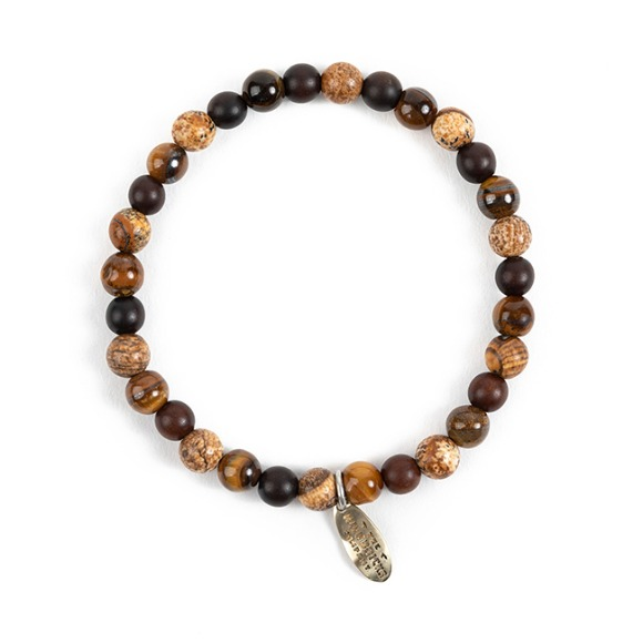 WG BASIC BRACELET (brown)