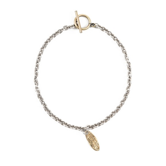 TN CHAIN BRACELET (brass)