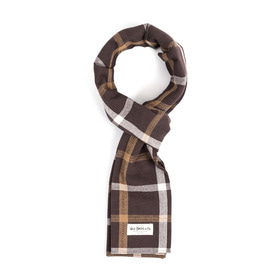 PIN CHECK STOLE (brown)