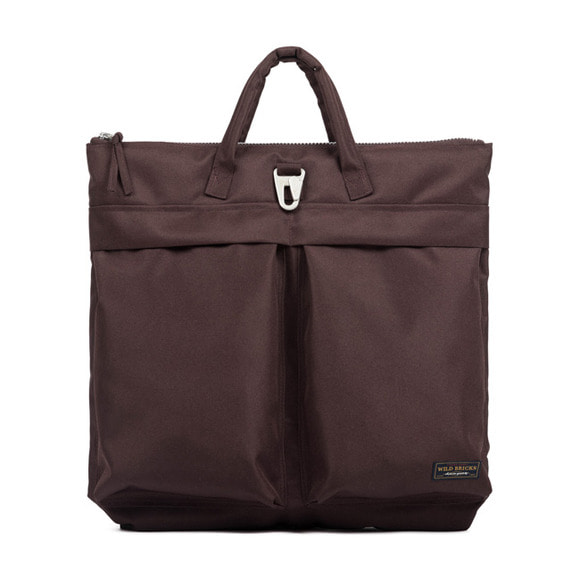 BS HELMET BAG (burgundy)
