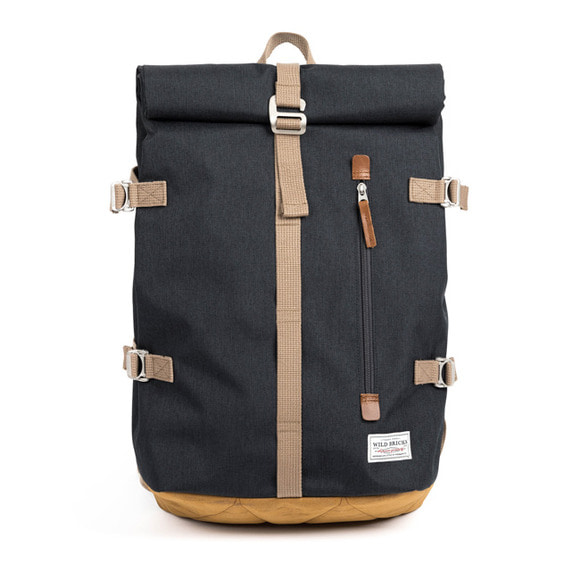 ROLL-TOP BACKPACK (grey)