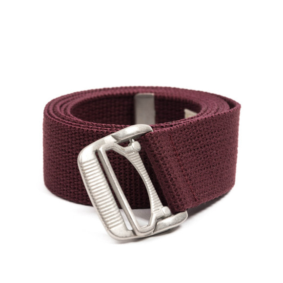 ES WEBBING BELT (burgundy)