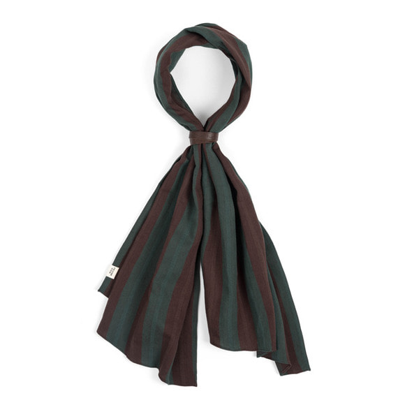 HBT STRIPE SCARF (green)