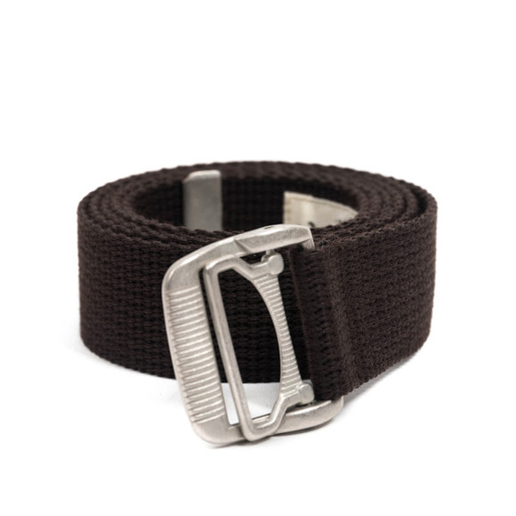 ES WEBBING BELT (dark brown)