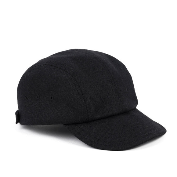 [프리오더 10/22 출고]BS WOOL CAMP CAP (black)