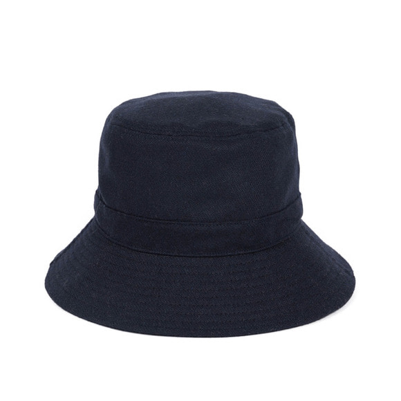 [프리오더 10/22 출고] BS WOOL BUCKET HAT (navy)