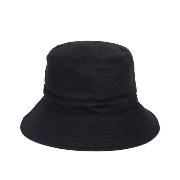[프리오더 10/22 출고] BS WOOL BUCKET HAT (black)