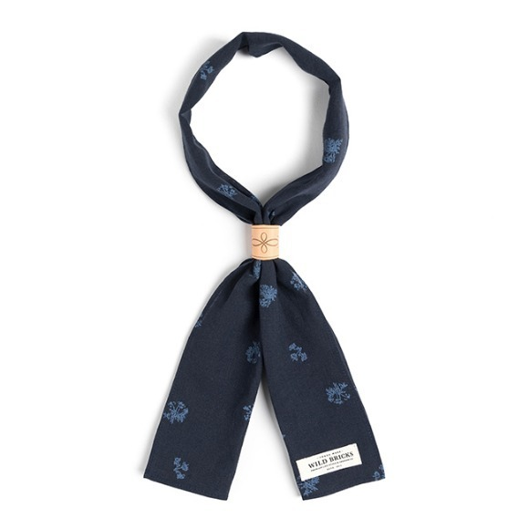 PINE SCARF (navy)