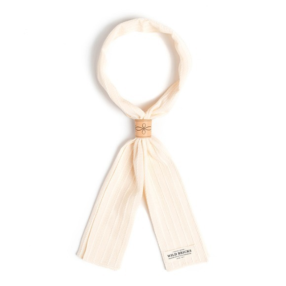 ROPE SCARF (ivory)