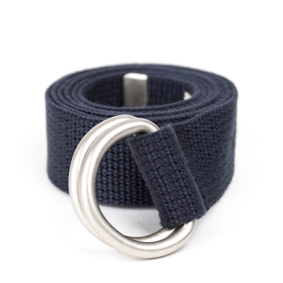 SV D-RING BELT (navy)