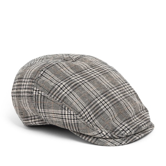 BPG CHECK HUNTING CAP (grey)