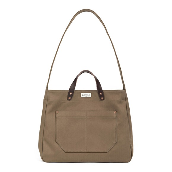 HBT TWO-WAY BAG (brown)
