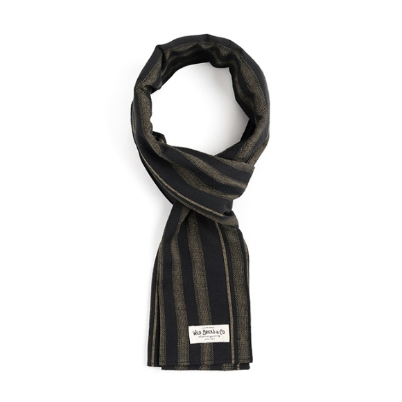 STC STRIPE STOLE (black)