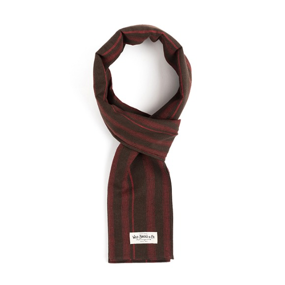 STC STRIPE STOLE (brown)