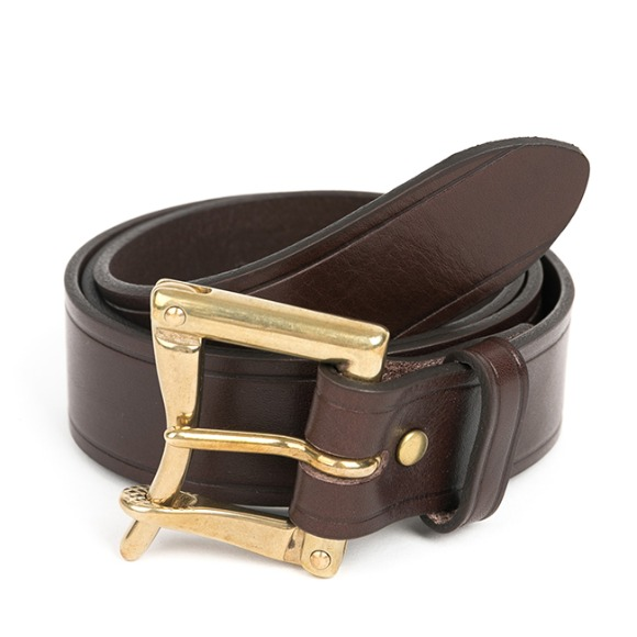 WB QUICK RELEASE BELT (dark brown)