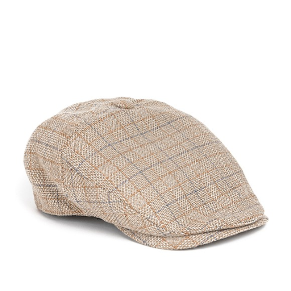 WP CHECK HUNTING CAP (beige)