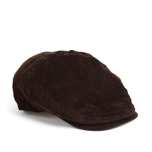 PL CORDUROY HUNTING CAP (brown)