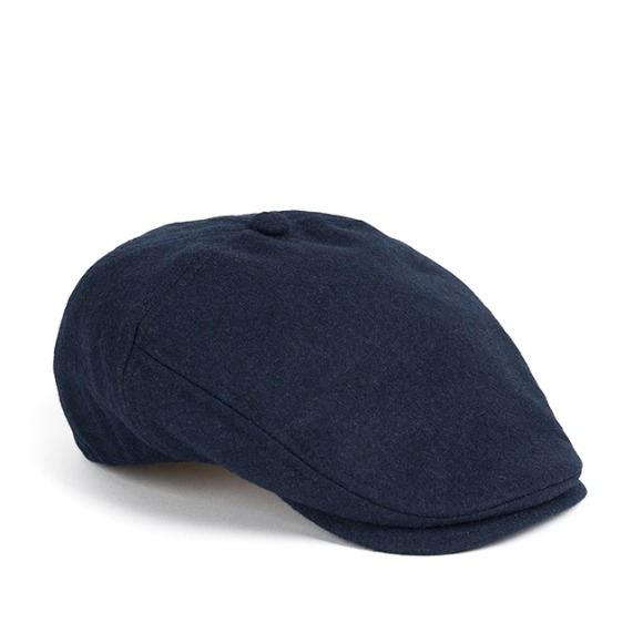 MELTON WOOL HUNTING CAP (navy)