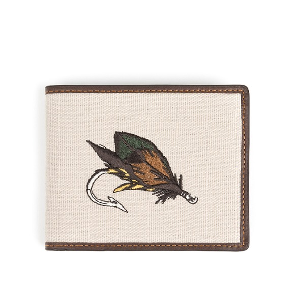 FLY FISHING WALLET (dark brown)