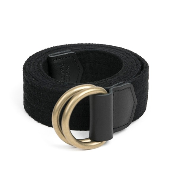 CHAMUDE D-RING BELT (black)