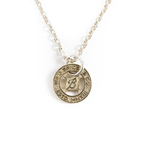 TRANSIT TOKEN SILVER NECKLACE